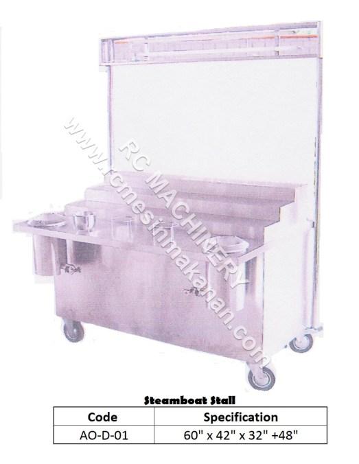 sEAMBOAT Stall