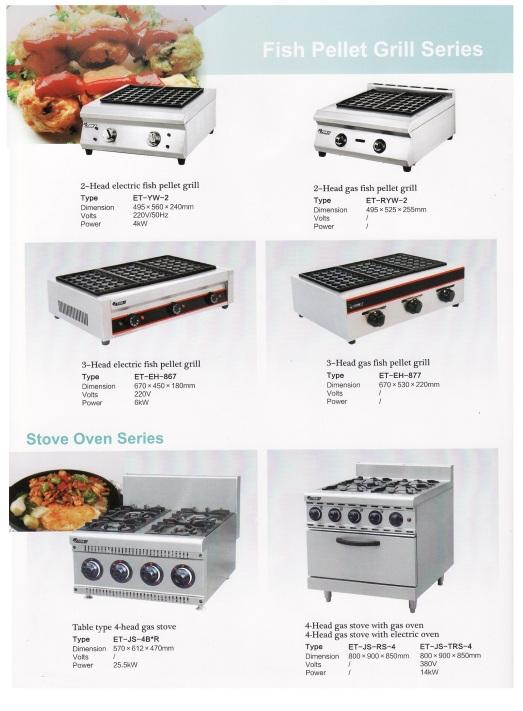 10.Fish pellet grill series