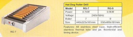 11. hot dog roller