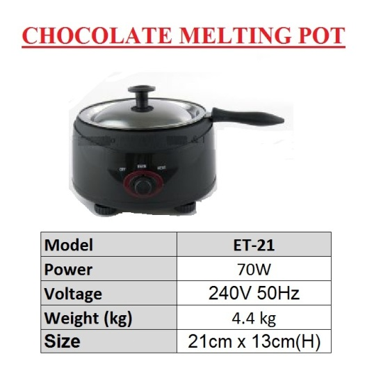 14.Chocolate Melting Pot