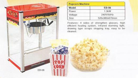3.Popcorn machine