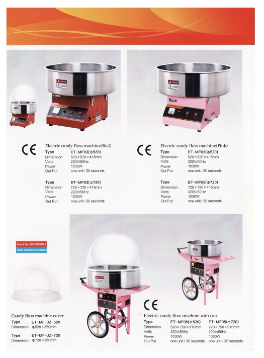 4.Candy Floss Machine Cover