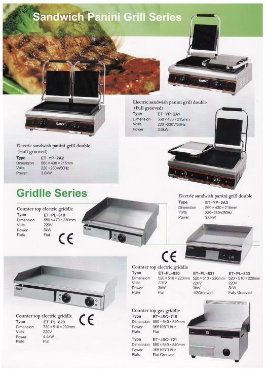 9.Panini & Griddle