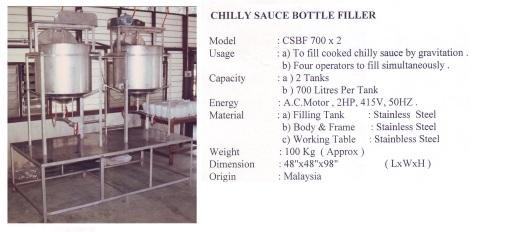 Filler Chilly Sauce Bottle Filler-CSBF 700x2