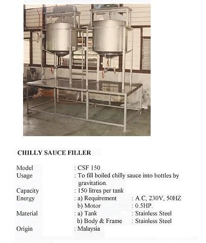 Filler Chilly Sauce Filler-CSF150