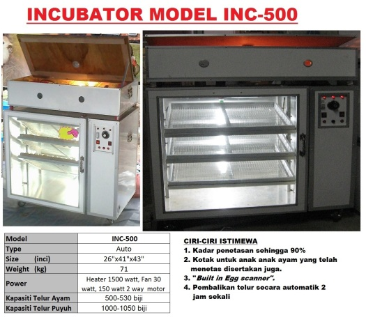 Incubator INC-500