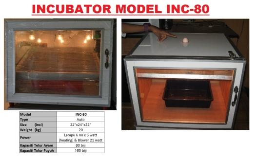 Incubator INC-80