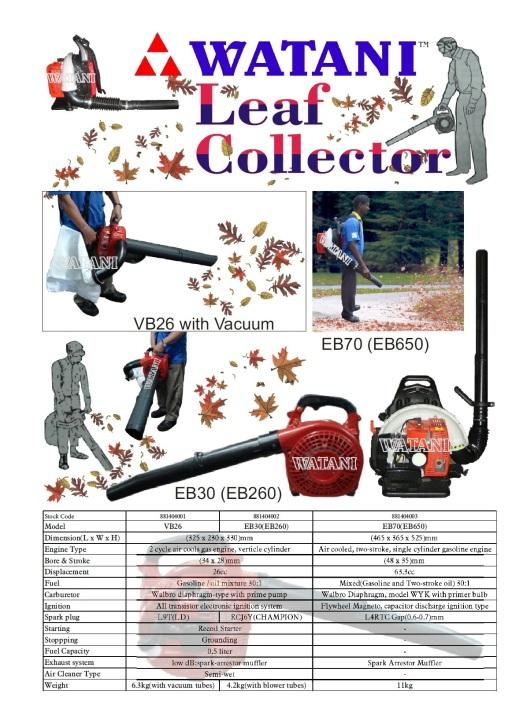 Leaf Collector EB26
