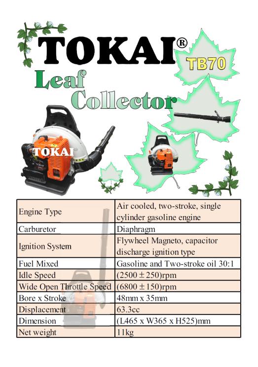 Leaf Collector TB70