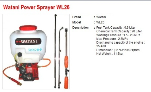 power spray WL26