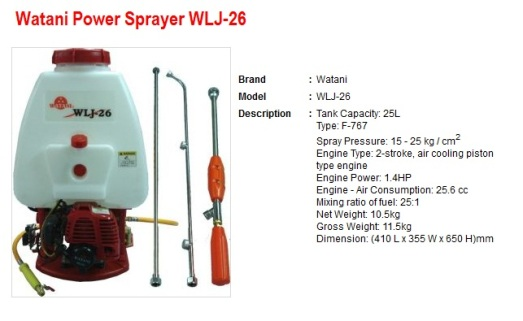 power spray WLJ26