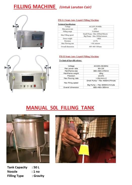 Q1 Liquid Filling Machine