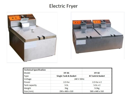 F1 Electric Fryer Small