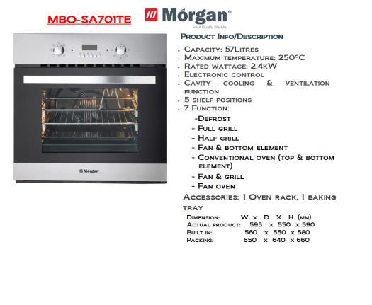 oven -SA701TE(Ketuhar)