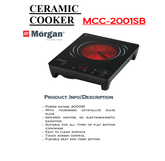 ceramic cooker MCC-2001SB(Dapur Seramik)