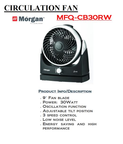 circulation fan MFQ-CB30RW(Kipas)