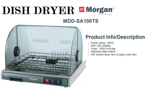 dish dryer MDD-SA100TS(Pengering Pinggan Mangkuk)