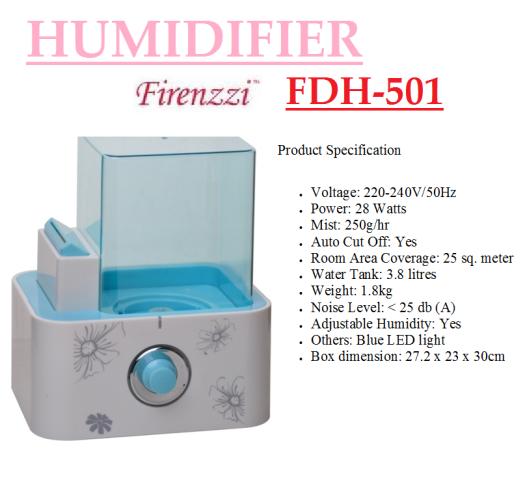 humidifier- FHD-501(Pelembap Udara)