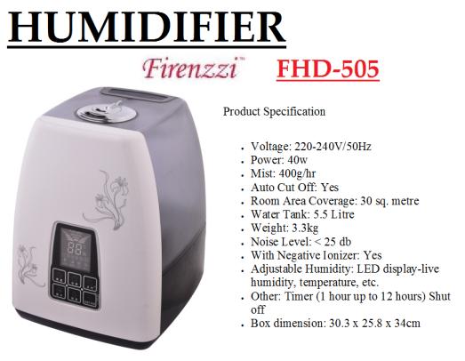 humidifier- FHD-505(Pelembap Udara)