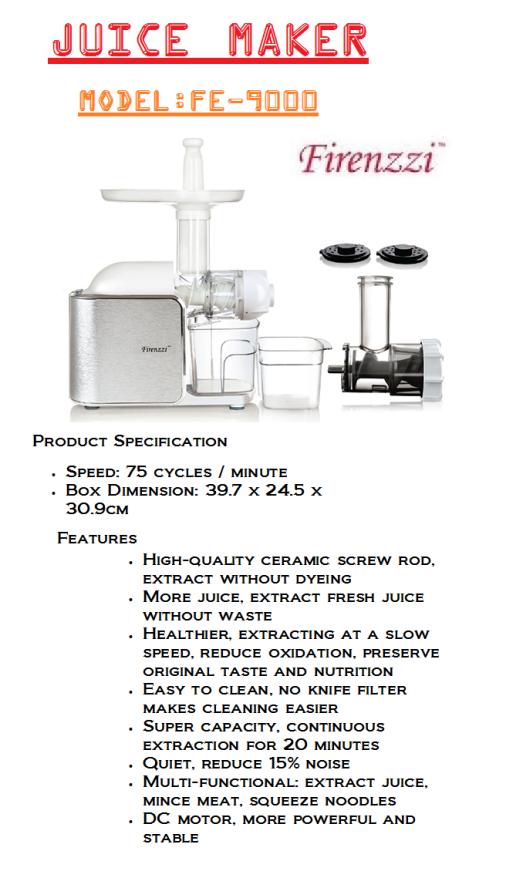 juice maker-FE-9000(Pembuat Jus)