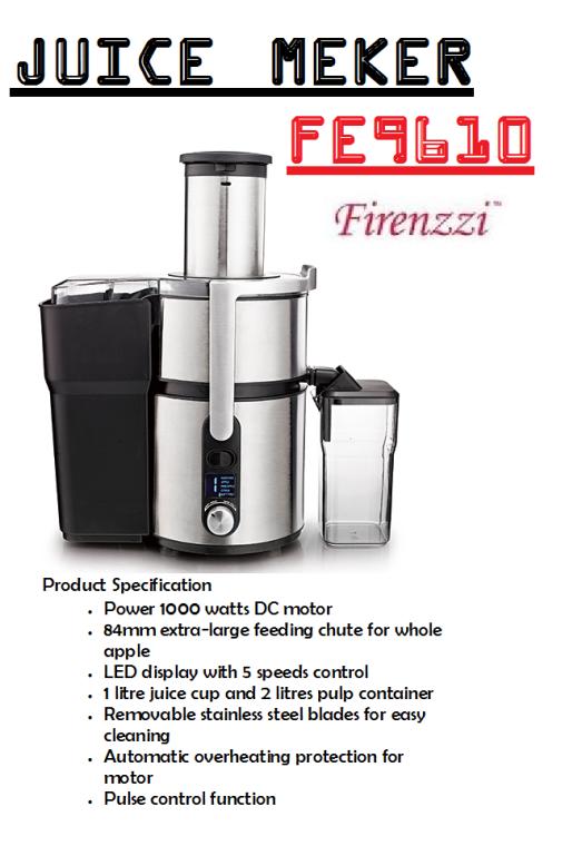 juice maker-FE9610(Pembuat Jus)