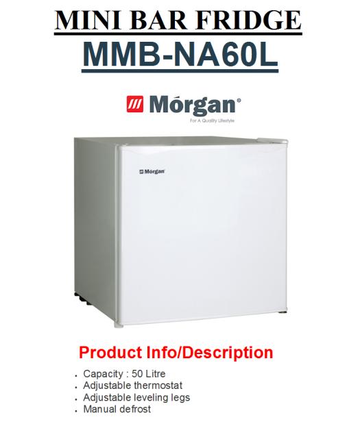 mini bar frige MMB-NA60L(Peti Sejuk Mini)