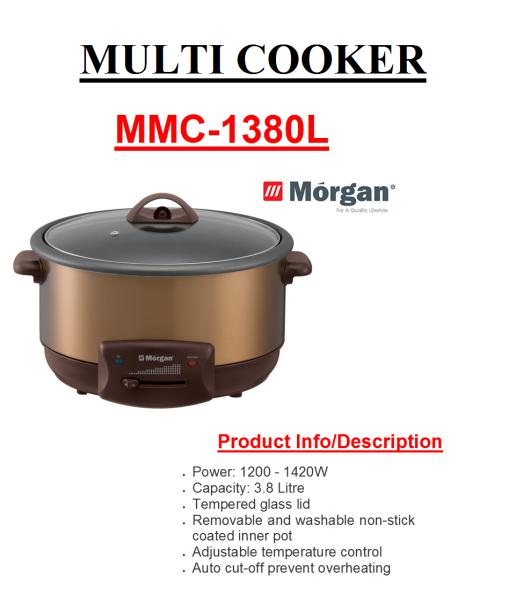 multi cooker MMC-1380L(Periuk Serba Guna)