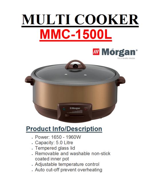 multi cooker MMC-1500L(Periuk Serba Guna)
