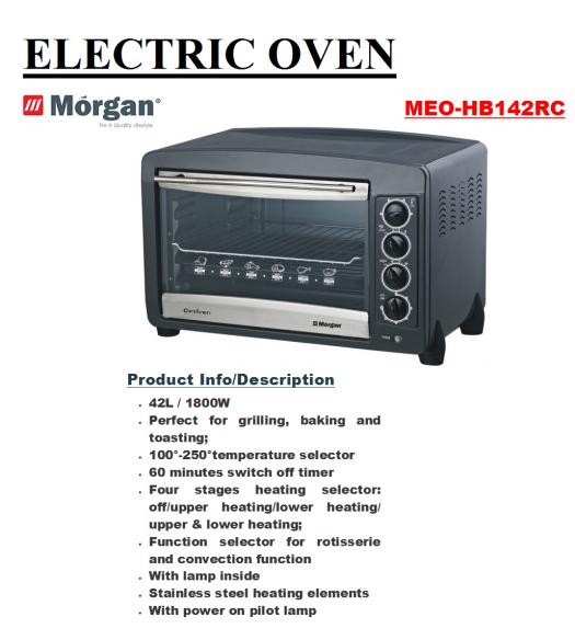 oven e MEO-HB142RC(Ketuhar)