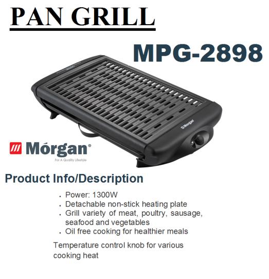 pan gril MPG-2898(Pemanggang)