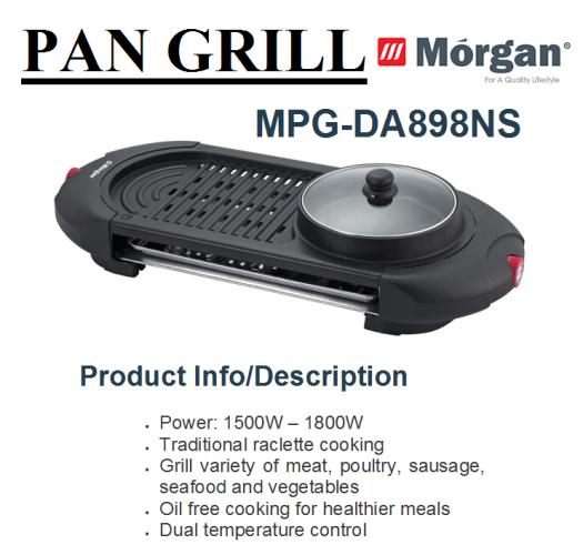 pan grill MPG-DA898NS(Pemanggang)