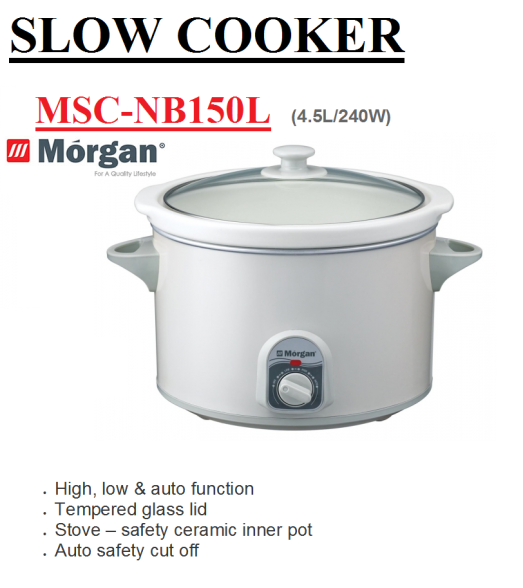sloe cooker MSC-NB150L(Periuk Elektrik)