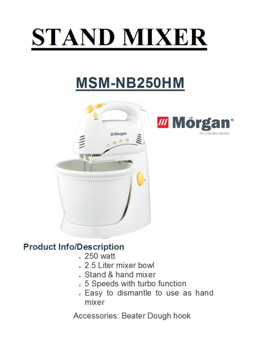 stand mixer MSM-NB250HM(Pengadun)