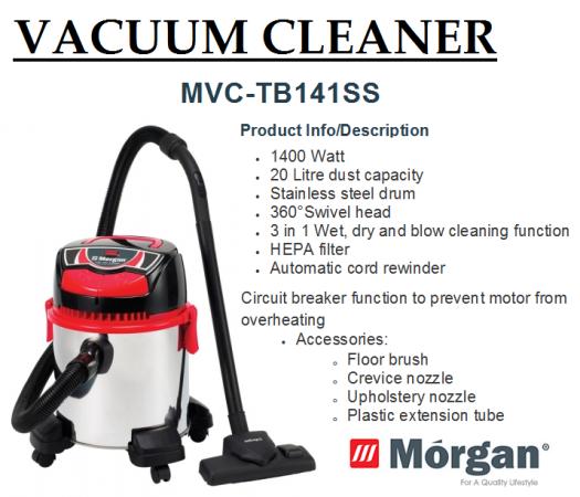 vacuum cleaner MVC-1431(Penyedut Hampagas)