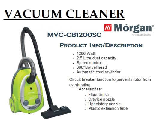 vacuum cleaner MVC-CB1200SC(Penyedut Hampagas)