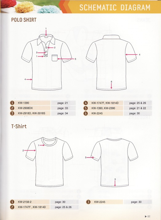 cutting department polo shirt T-shirt baju polo T-shirt.
