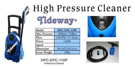 high pressure cleaner electric