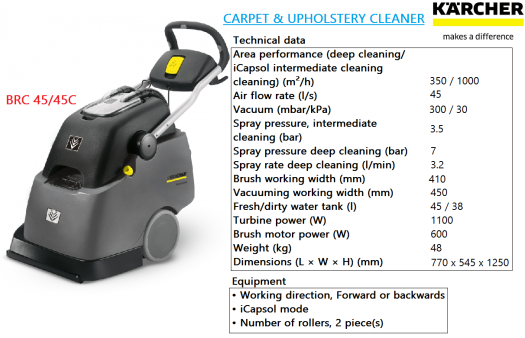 brc-45-45c-karcher-carpet-upholstery-cleaner