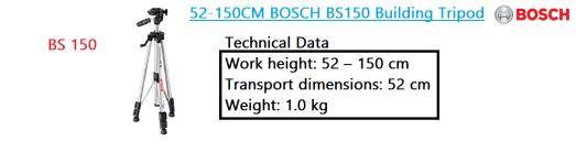 BS 150 building tripod BOSCH power tool.png