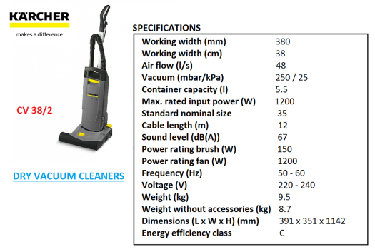 cv-38-2-karcher-dry-vacuum-cleaner