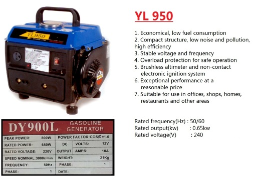 generator-yl950