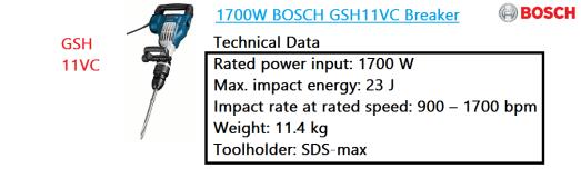 GSH 11VC breaker BOSCH demolition hammer power tool.png